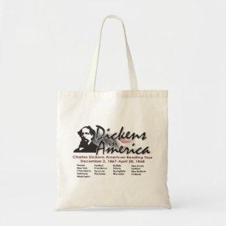 Dickens en el bolso de América Bolsa Tela Barata
