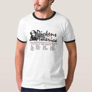 Dickens in America Ringer T-Shirt