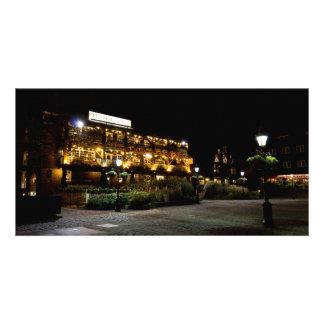Dickens Inn Pub St Katherines Dock London Customised Photo Card