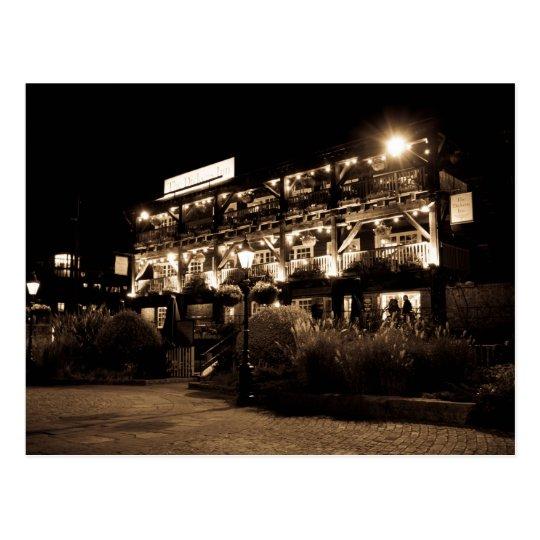 Dickens Inn Pub st Katherines Dock London Postcard