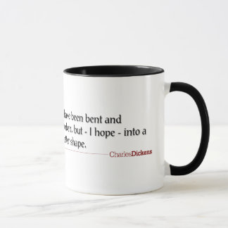 Dickens Quotes - Bent and Broken Mug