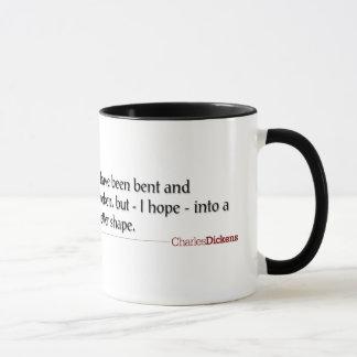 Dickens Quotes - Bent and Broken Mug