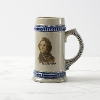 Dickens (sepia) jarra de cerveza
