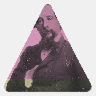 Dickens Triangle Sticker