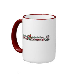 Dickens una taza del villancico del navidad