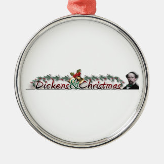 Dickens y ornamento del navidad adorno de reyes