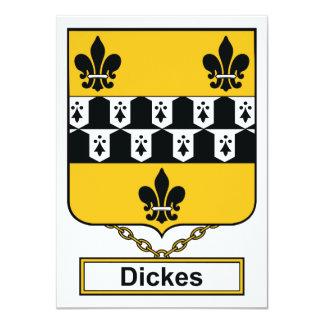 Dickes Family Crest Card