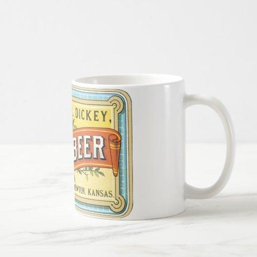 Dickey Root Beer Classic White Coffee Mug