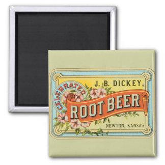 Dickey Root Beer Fridge Magnets