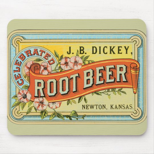 Dickey Root Beer Mouse Pad