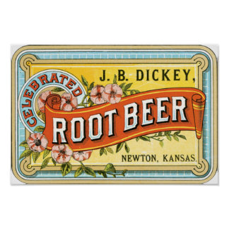 Dickey Root Beer Poster