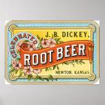 Dickey Root Beer Print