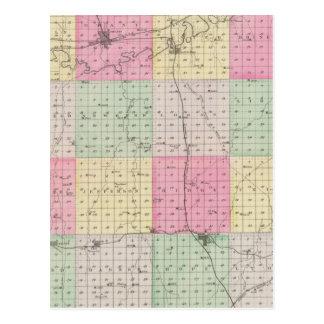 Dickinson County, Kansas Postcard