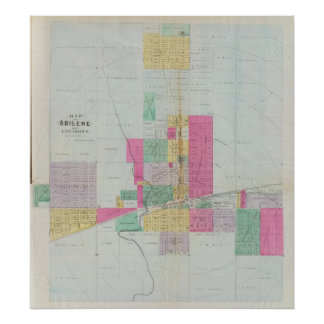 Dickinson County, Kansas Poster