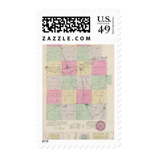 Dickinson County, Kansas Stamps