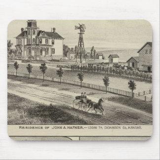 Dickinson County Residences, Kansas Mouse Pad