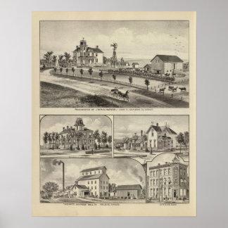 Dickinson County Residences, Kansas Poster