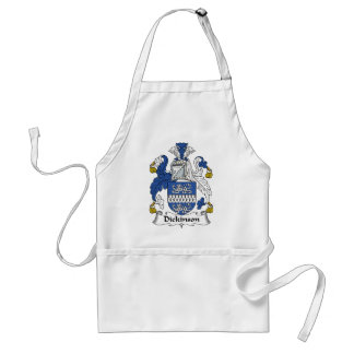 Dickinson Family Crest Adult Apron