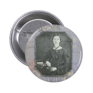 Dickinson Remixed 2 Inch Round Button