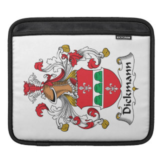 Dickmann Family Crest Sleeves For iPads