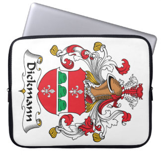 Dickmann Family Crest Computer Sleeves