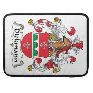Dickmann Family Crest Sleeve For MacBooks