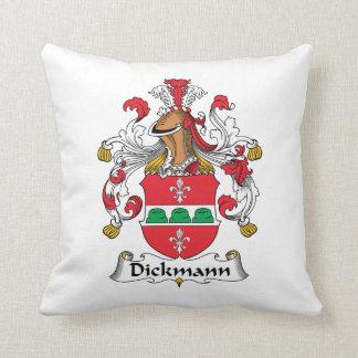 Dickmann Family Crest Pillow