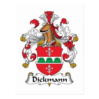 Dickmann Family Crest Postcard