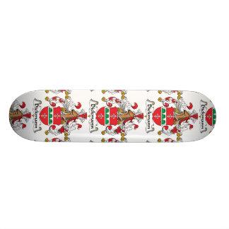 Dickmann Family Crest Custom Skateboard