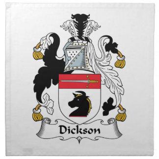 Dickson Family Crest Cloth Napkin