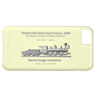 Dickson Switching Locomotive 1886 Cover For iPhone 5C