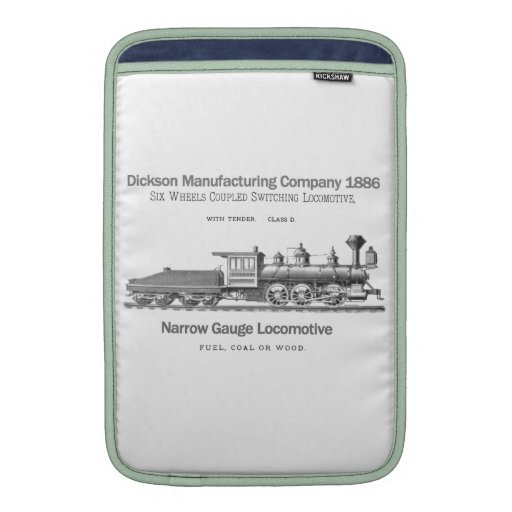 Dickson Switching Locomotive 1886 Sleeve For MacBook Air
