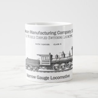 Dickson Switching Locomotive 1886 Jumbo Mug