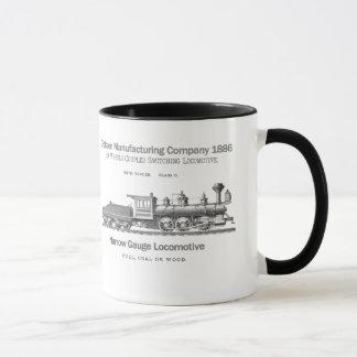 Dickson Switching Locomotive 1886 Mug