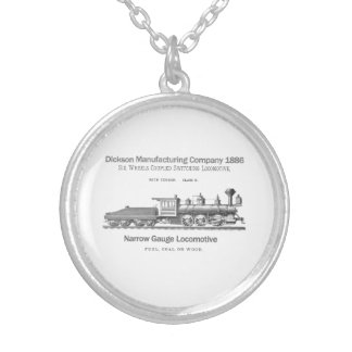 Dickson Switching Locomotive 1886 Necklace