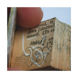 DicofrAngle Miniature Book cut down Drawing Canvas