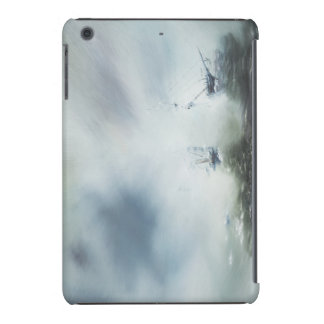 Dicovery a clearing in the sea mist Captain iPad Mini Cases