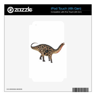 Dicraeosaurus In Side Profile Decal For iPod Touch 4G
