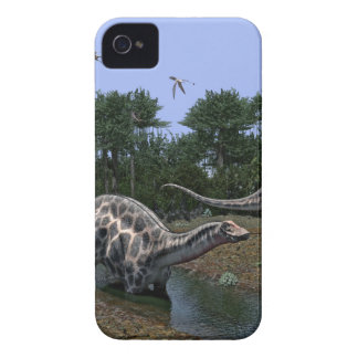 Dicraeosaurus Scene iPhone 4 Cover