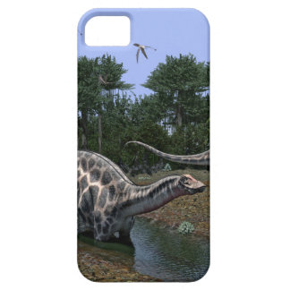 Dicraeosaurus Scene iPhone SE/5/5s Case