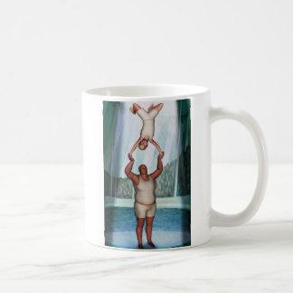 Dictador del circo taza de café