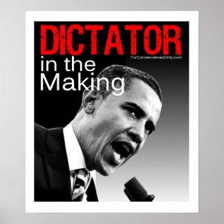 """""""Dictador en la fabricación """" Póster"""