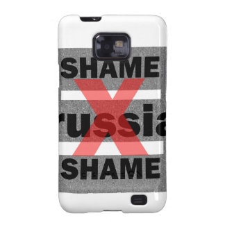 Dictador Shameful Fear Trouble Insane de RUSIA de Samsung Galaxy SII Funda