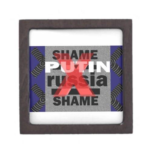 Dictador Voilent D antisocial de PUTIN Rusia de la Caja De Regalo De Calidad