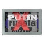 Dictador Voilent D antisocial de PUTIN Rusia de la Hebilla Cinturón Rectangular