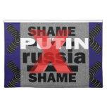 Dictador Voilent D antisocial de PUTIN Rusia de la Manteles