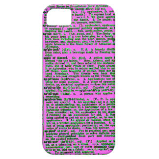 "Dictionary Definition of ""Apple"" iPhone SE/5/5s Case"
