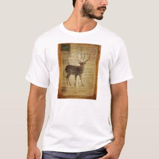 Dictionary print outdoorsman whitetail buck Deer T-Shirt