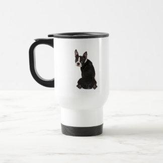 Did I Do That Boston Terrier Dog Travel Mug
