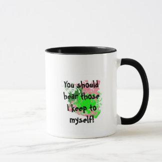 Did I offend you? Ringer Mug color